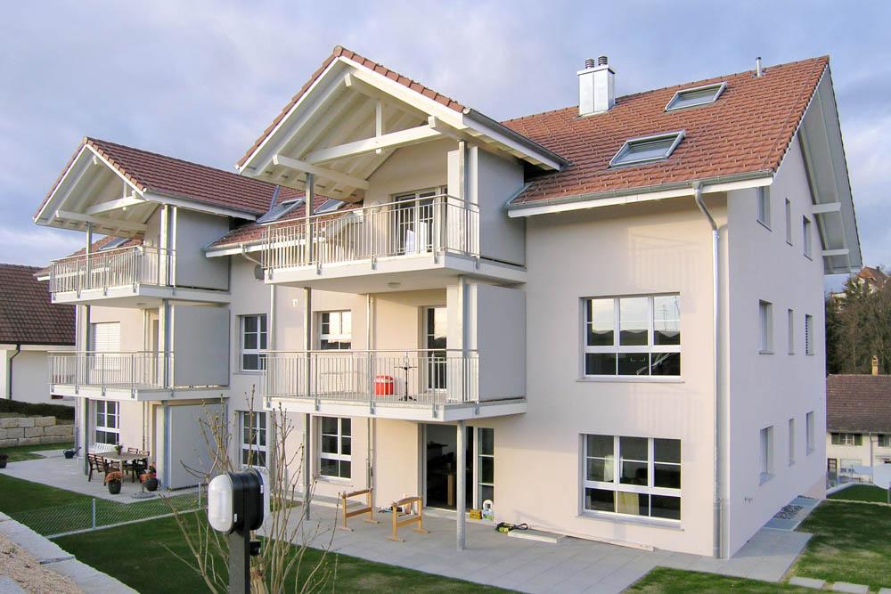 """Mehrfamilienhaus """"Oelegarten"""", 3210 Kerzers"""