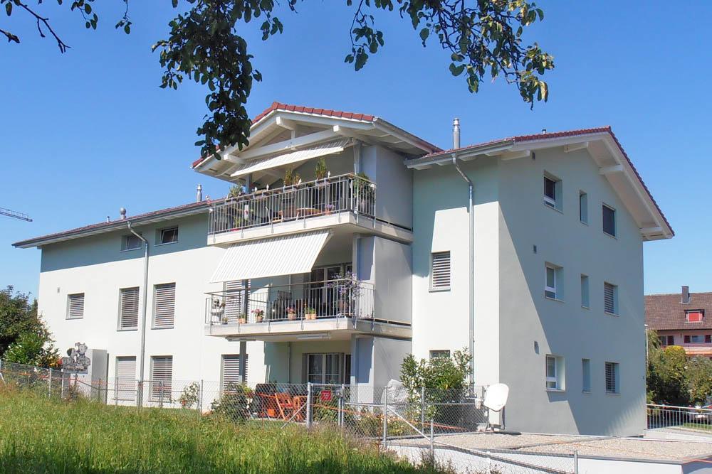 "Mehrfamilienhaus ""Trogmatte"", 3216 Ried"