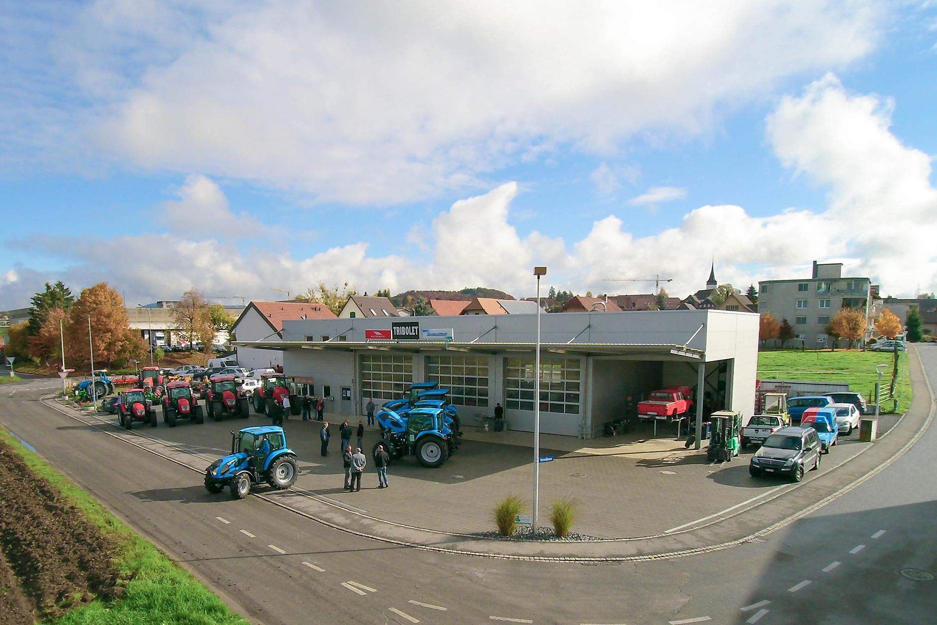 Betriebsgebäude, 3210 Kerzers