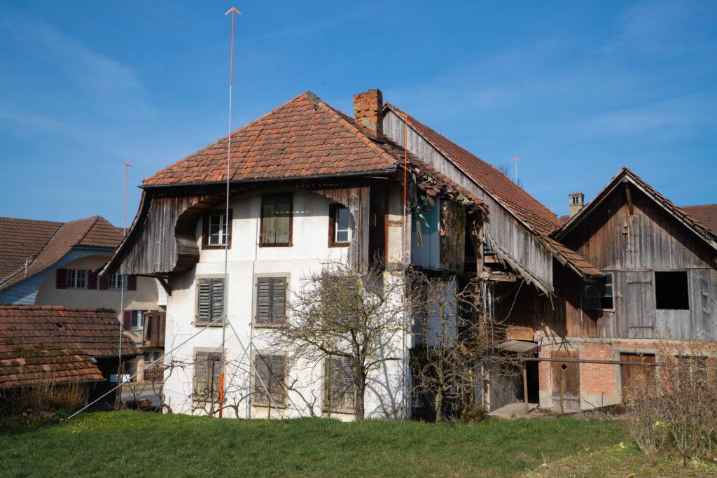 Abbruch Bauernhaus & Neubau Mehrfamilienhaus, 3210 Kerzers